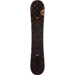 SNOWBOARD ANGUS + FIXATIONS K2 INDY BLACK - Taille: XL (44.5-50)