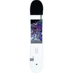 SNOWBOARD RAYGUN + FIXATIONS K2 MENS CLICKER X HB BLACK - Taille: L (40.5-46)