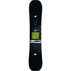 SNOWBOARD LIME LITE + FIXATIONS K2 CASSETTE CHARCOAL - Taille: M (36-40)