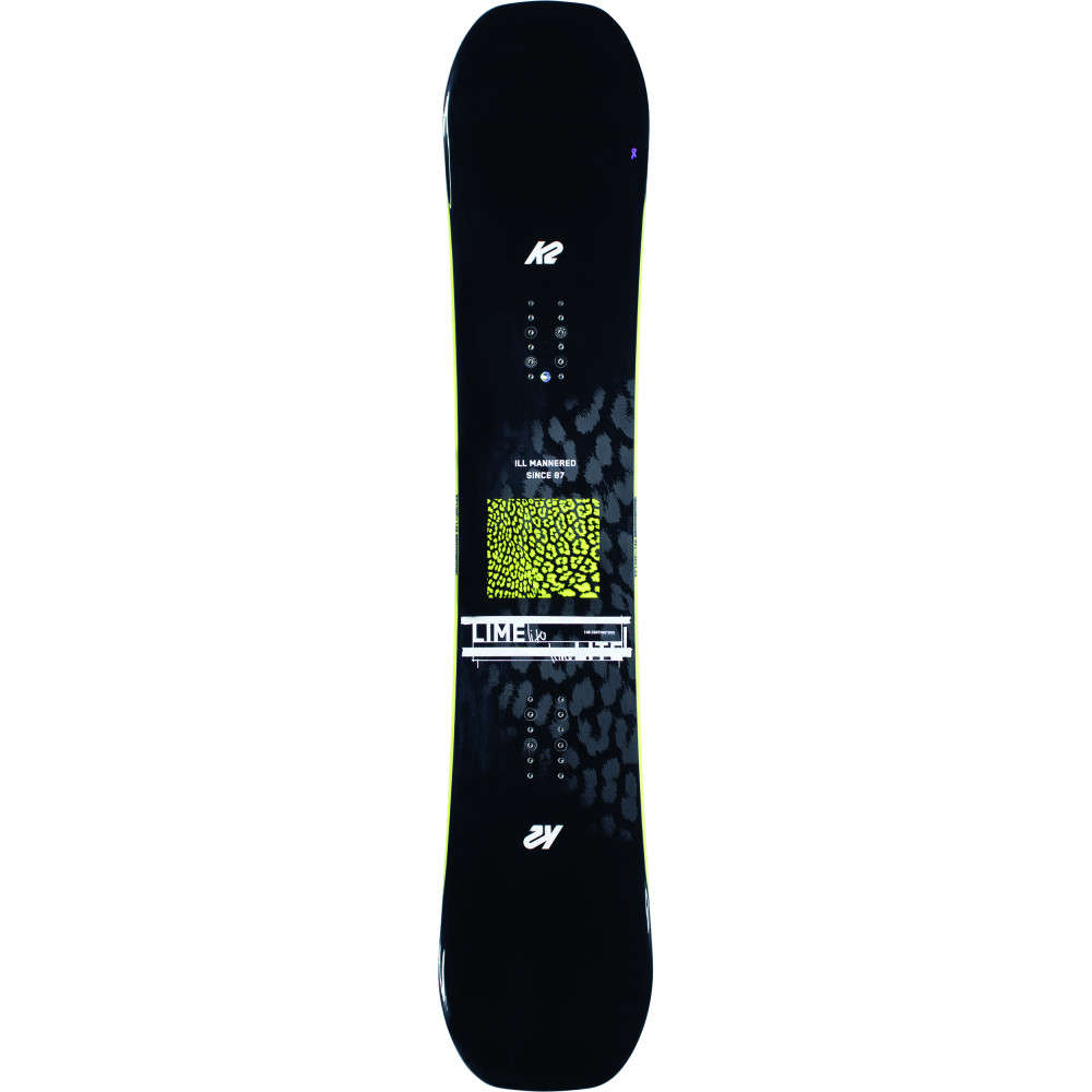 SNOWBOARD LIME LITE + FIXATIONS ROSSIGNOL DIVA - Taille: S/M