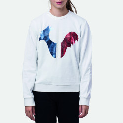 SWEAT GIRL ROOSTER RN WHITE