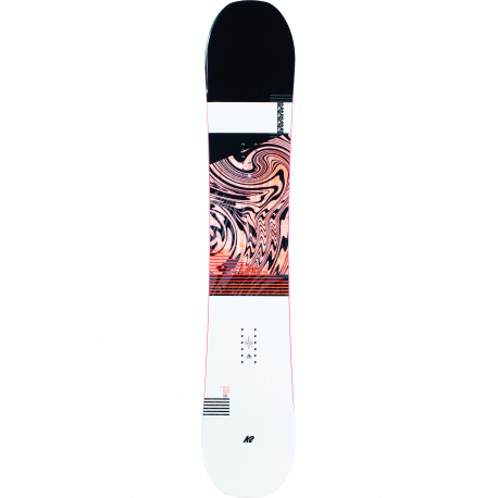 SNOWBOARD RAYGUN POP + FIXATIONS K2 SONIC BLACK - Taille: M (36.5-42)