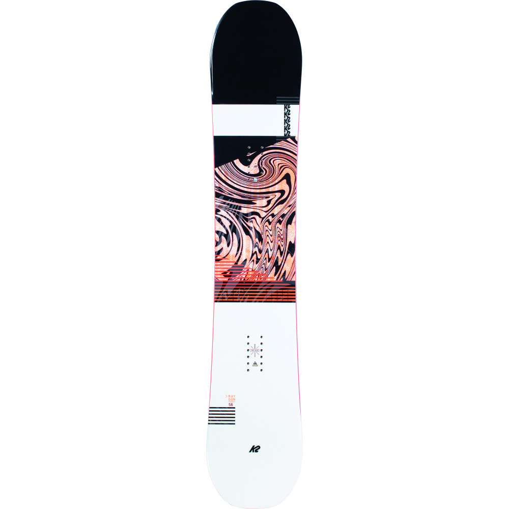 SNOWBOARD RAYGUN POP + FIXATIONS K2 INDY NAVY - Taille: XL (44.5-50)