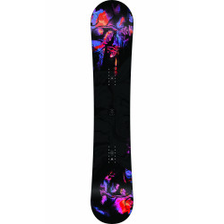 SNOWBOARD FIRST LITE + FIXATIONS K2 MURAL BLACK - Taille: M