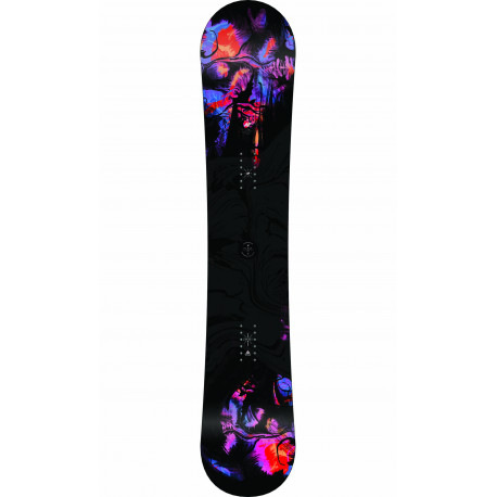SNOWBOARD FIRST LITE + FIXATIONS K2 CASSETTE BLACK - Taille: M