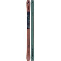 SKI PUNX SEVEN GREEN/BROWN + BINDINGS ATTACK² 13 GW BRAKE 95