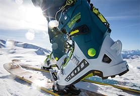 Ski touring boots