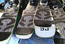 Ski sets + bindings Used