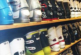 Ski boots used