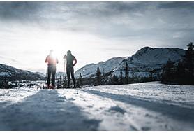 Cross-country skiing Used
