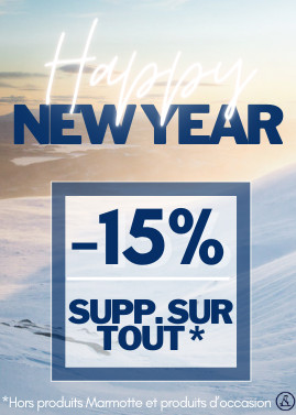 HAPPY NEW YEAR ! -15% avec le code HAPPY15