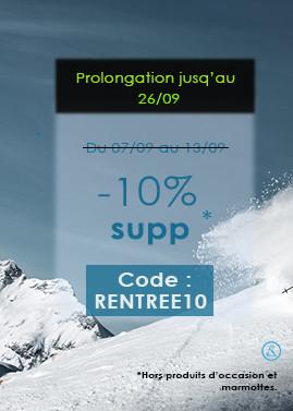 Back to school -10% univers ski et snowboard