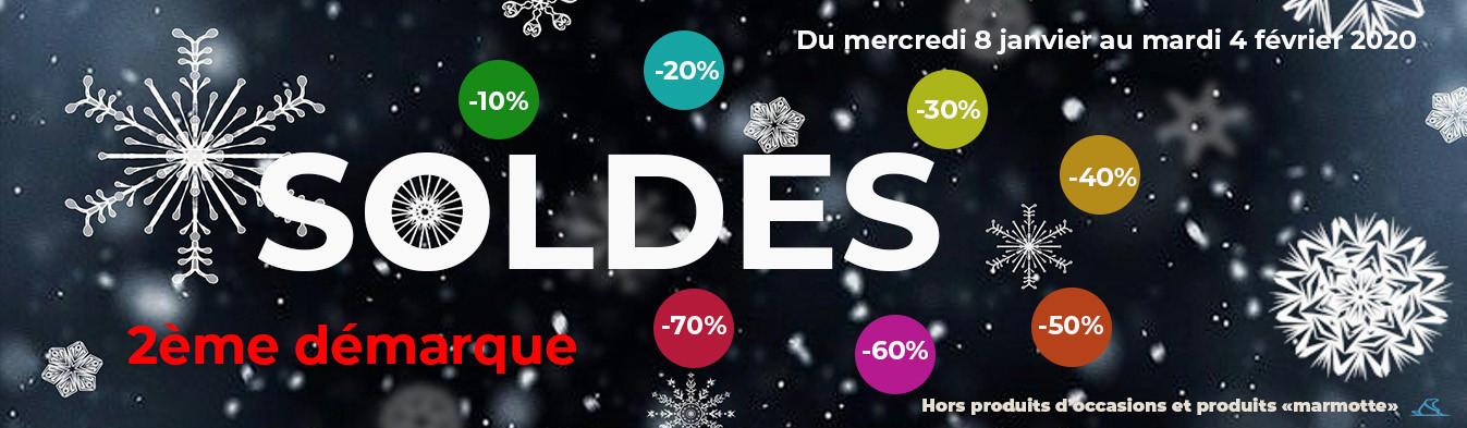 SOLDES HIVER 2020 - 2ème DEMARQUE