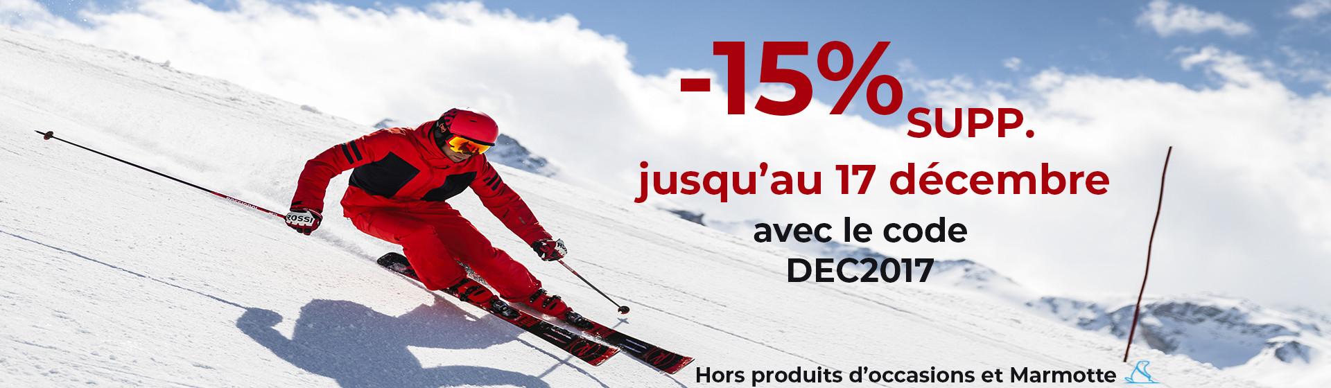 -15% PROMO DECEMBRE 2017